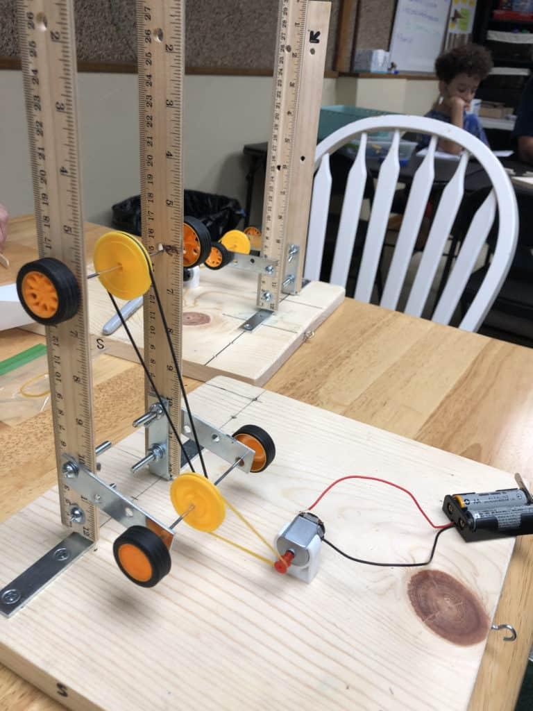 Lab equipment for testing motors