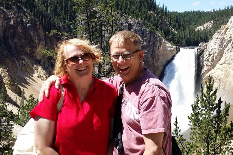 Paula and Dave at Yellowstone