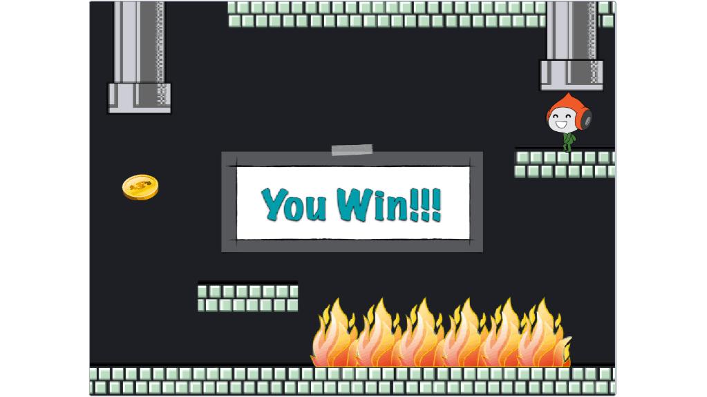 Kids' computer game